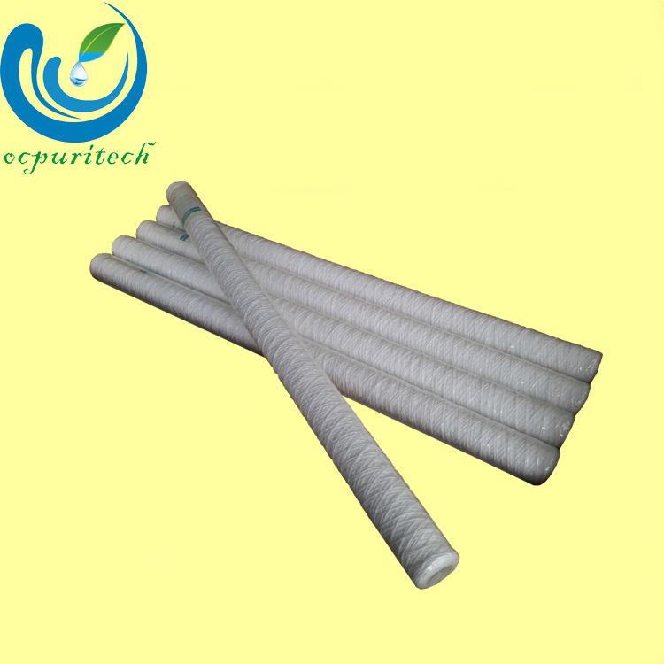 40 inch 5 micron pp yarn water filter cartridge