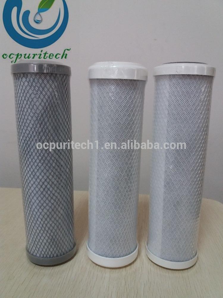 Cto Activated Carbon Water Filter Cartridge Block Filter Cartridge