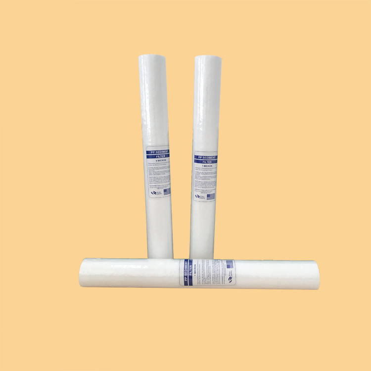 hot selling 30 inch ro water purifier pp filter oem china pp melt blown filter cartridge