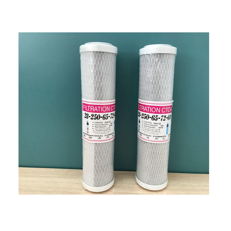 10inch CTO Tap water purifier filter cartridge water filter cartridge sediment
