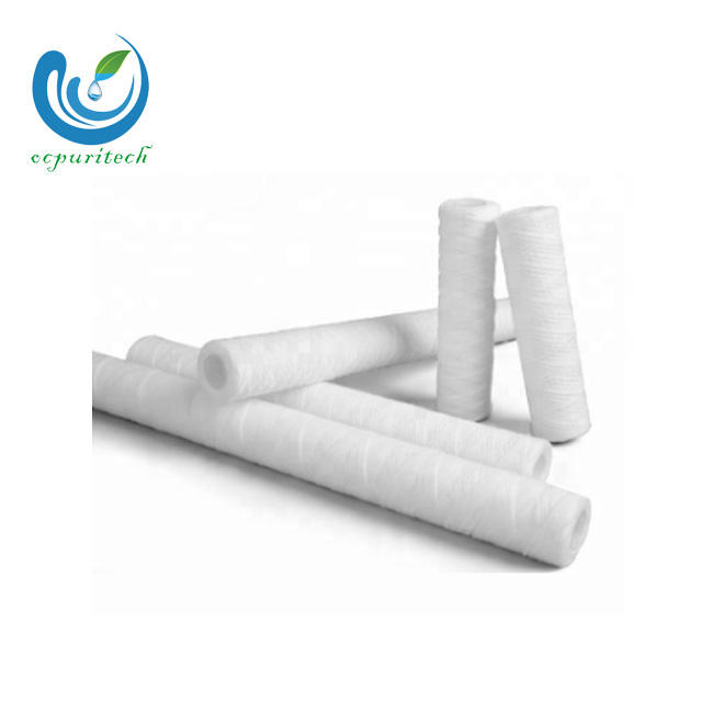 Residential Grade string woundsedimentfilter element for liquid treatment