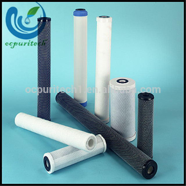 Factory 20inch 40inch alkaline Cto carbon Water Filter Cartridge