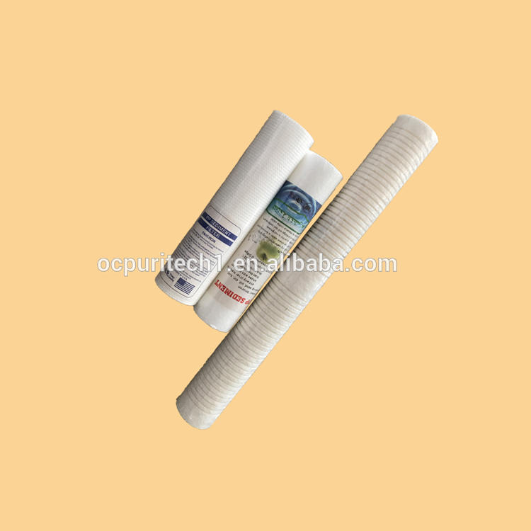 Factory direct supply pp water filter GAC+CTO+T33 filter part