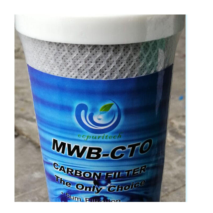 20 inch block carbon cartridgefilter water filter cartridge sediment