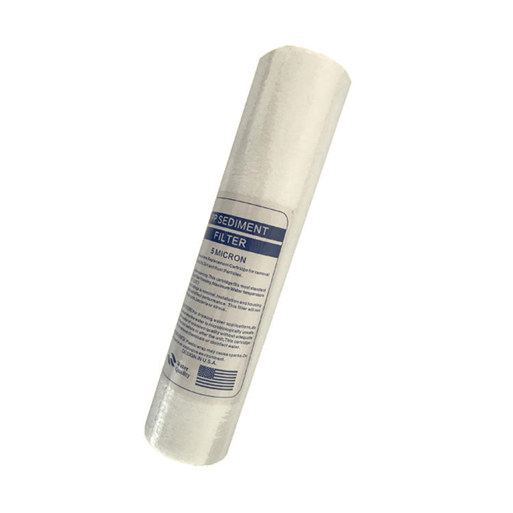 hot selling 1 micron 10 inch commercial sediment pp melt blown water filter cartridge