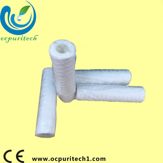 String / Spiral Wound Filter Cartridge High Quality Spiral/String Wound Filter Cartridge