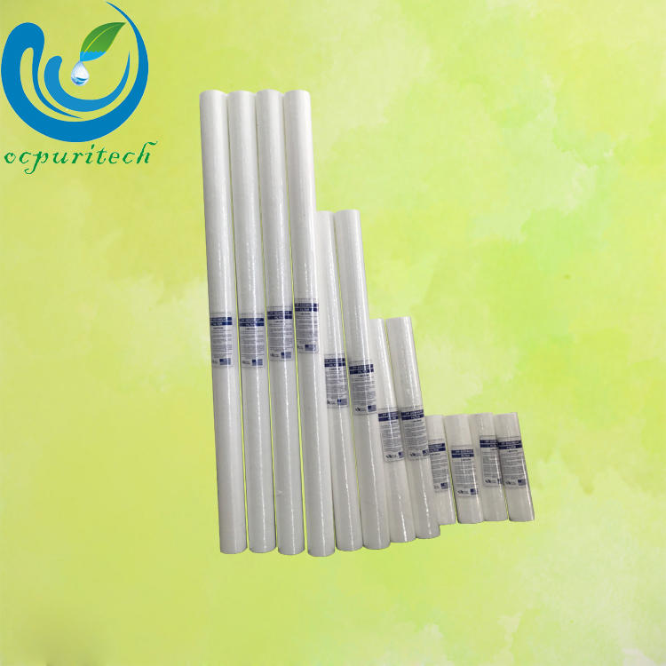 hot selling 10 inch commercial sediment pp yarn melt blown water filter cartridge