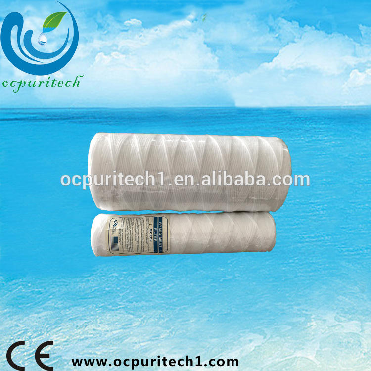 Best home use cheap pp string wound filter cartridge