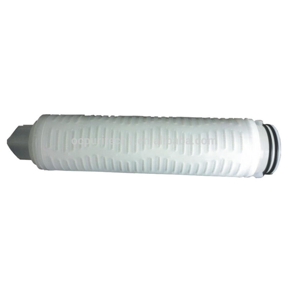10 inches 20 inches Pleated Cartridge for RO system(PP/UDF/CTO/PP Yarn)