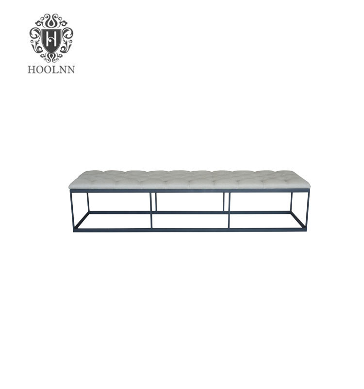 French-style Antique Wooden Bench S1087