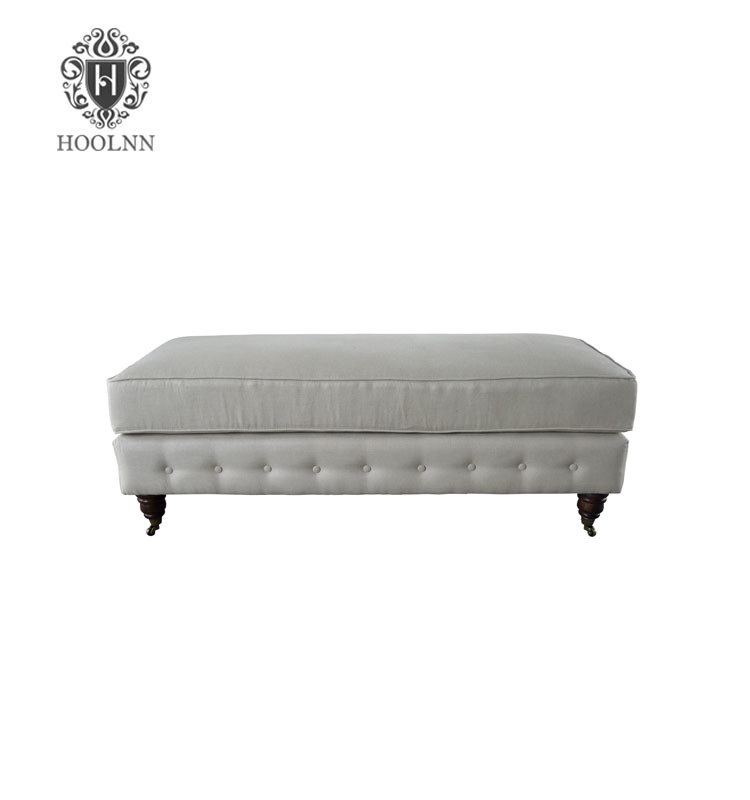 French-style Antique Bed End Bench Ottoman HL288-F05