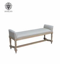 Antique Wooden Furniture Simon Upholstered Bench HL244