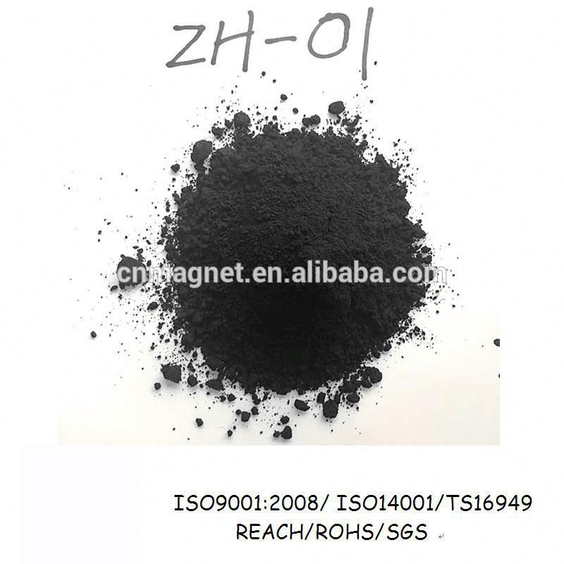 Ts16949 certified ZH-01 barium ferrite powder use for Rubber stripe