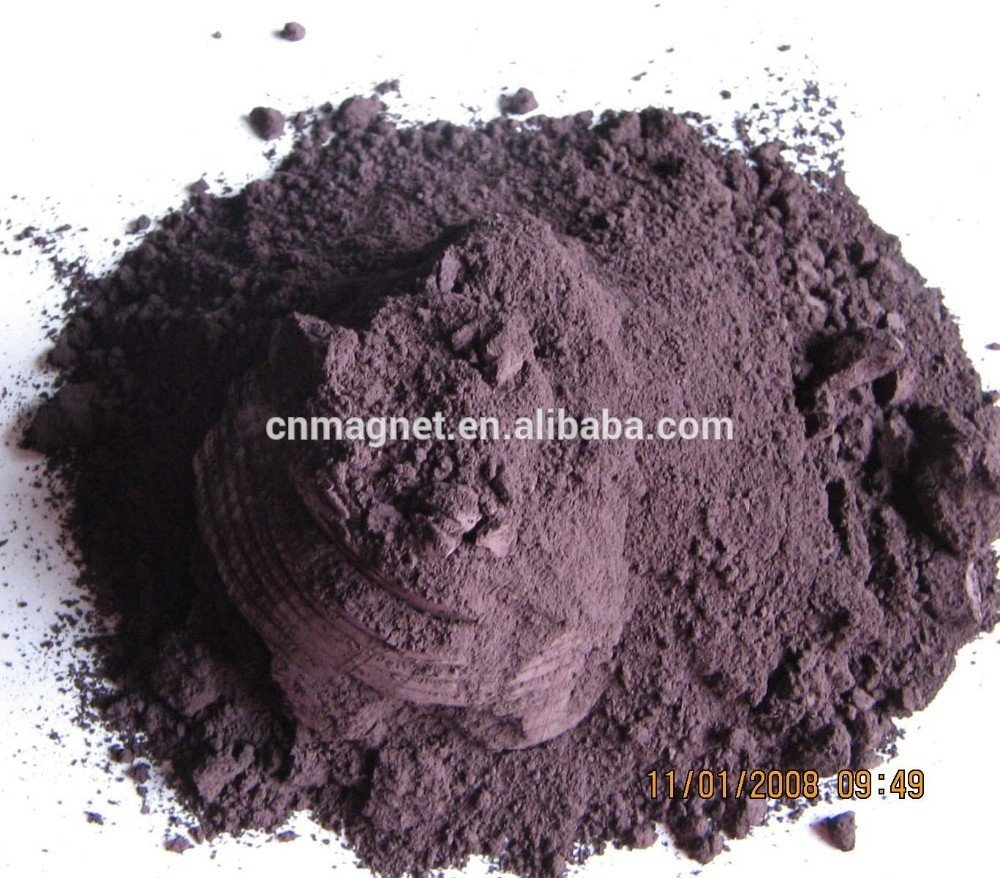 New Strontium ferrite magnet Powder use for Rubber magnetr supplier of china