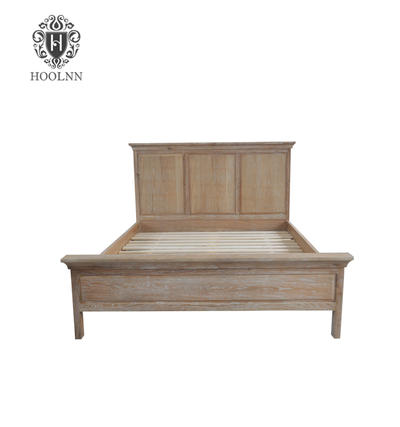 French style Antique Wooden latest bed designs Bed HL090-153