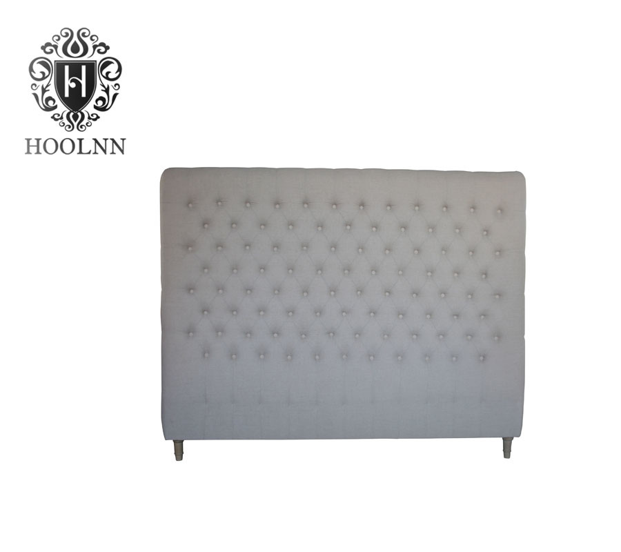 French-style Antique Wooden Upholstered Luxurious Headboard HL007K-F05