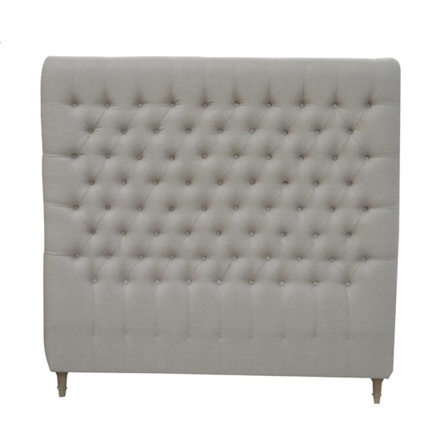 French-style Antique Wooden Upholstered Luxurious Headboard HL007Q-F05