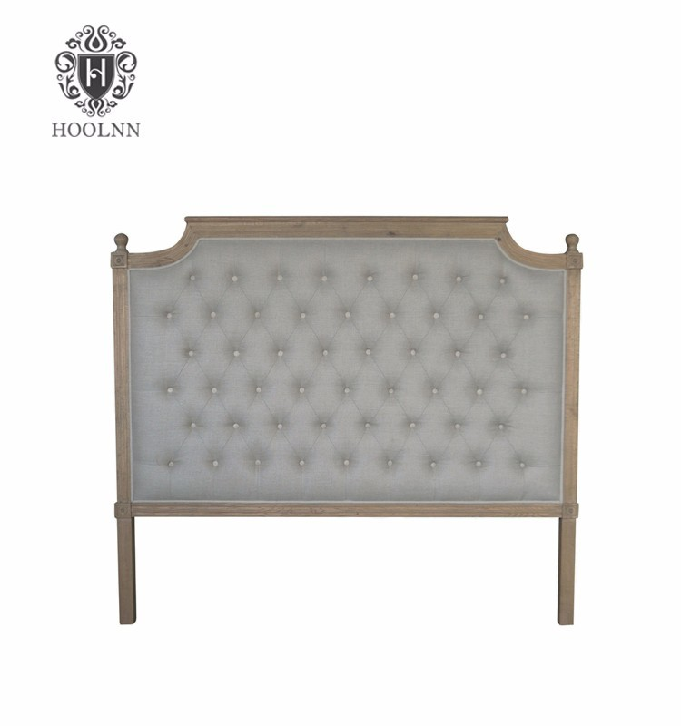 French-style Antique Wooden Upholstered Luxurious Headboard HL005Q-F05