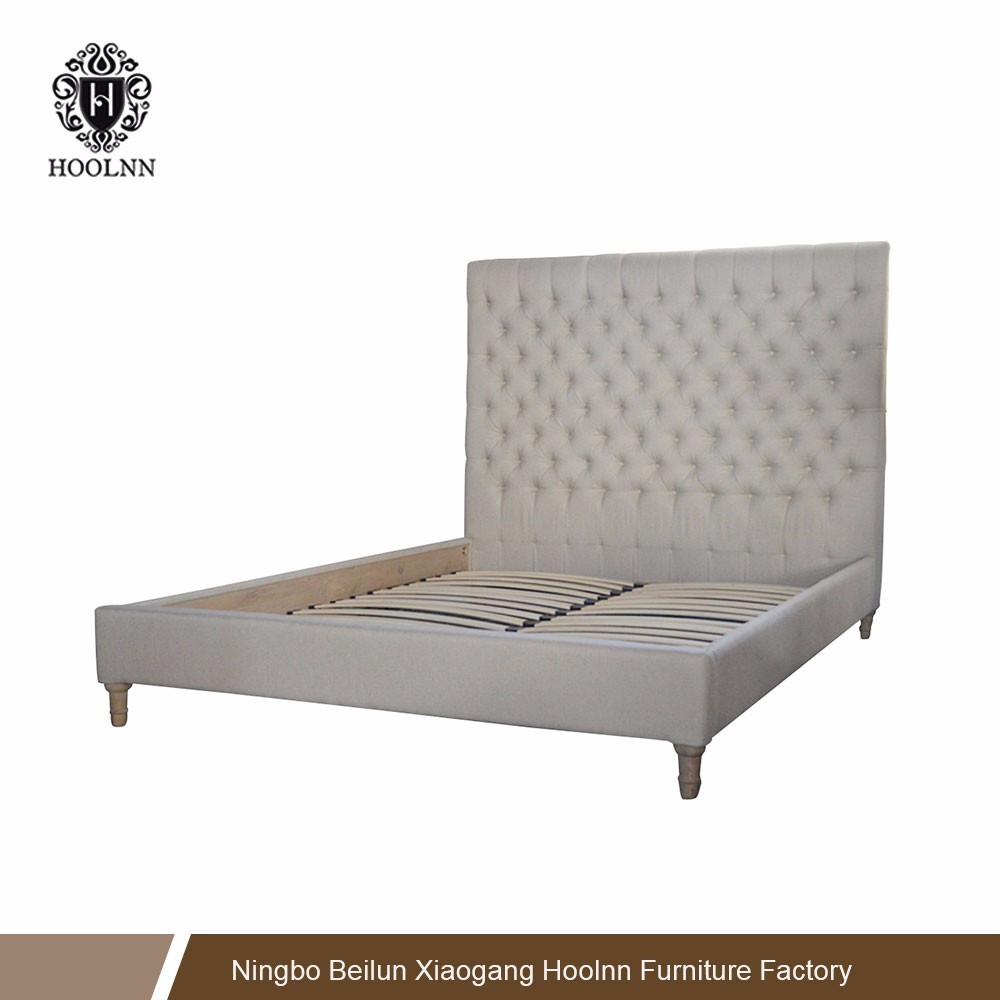French Country Style Uphostery Bed HL007FB-153