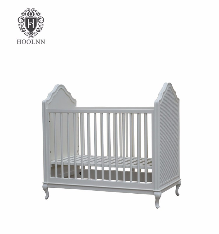 Solid Wood Baby Bed Junior Bed Cot