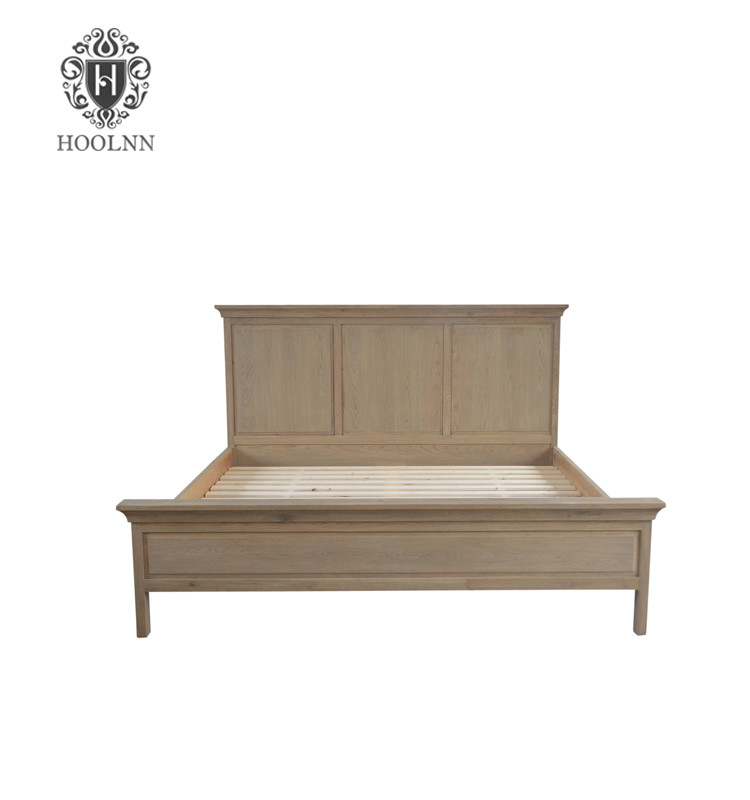 French style Antique Wooden Bed HL090-183
