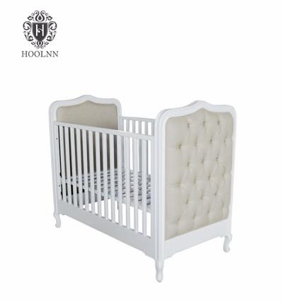 French Style Wooden Baby Crib Furniture HL049