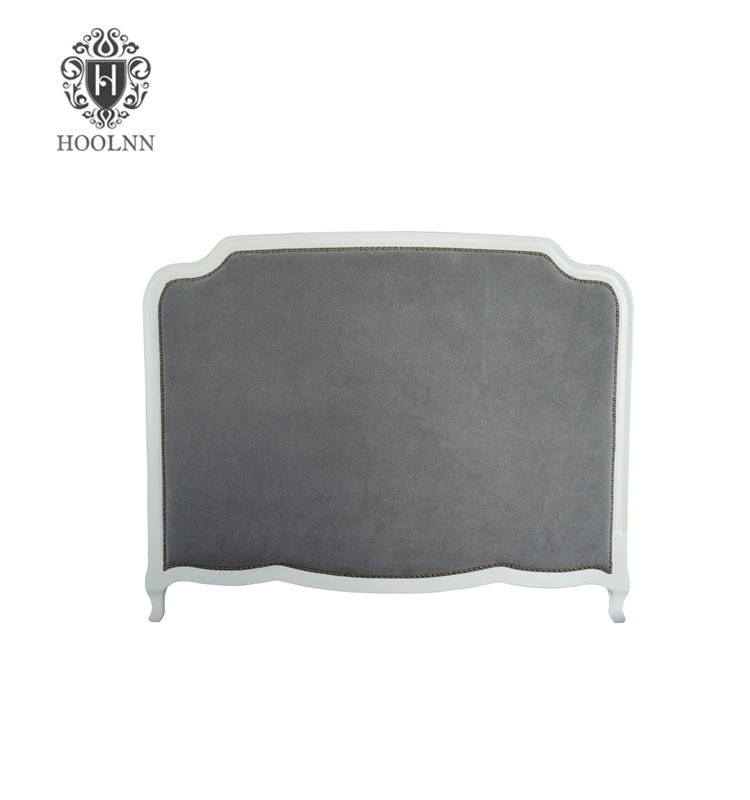 French-style Antique Wooden Upholstered Luxurious Headboard HL159HBQ-F64