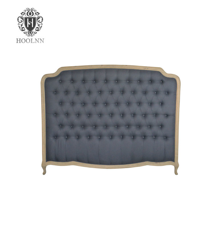 French-style Antique Hotel Room Furniture WoodenLuxurious Headboards King Size 1 Bed