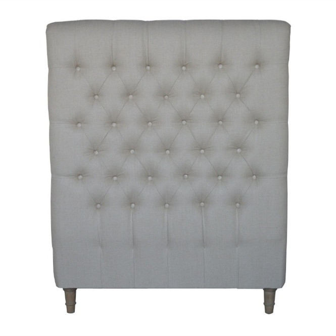 French-style Antique Wooden Upholstered Luxurious Headboard HL007S