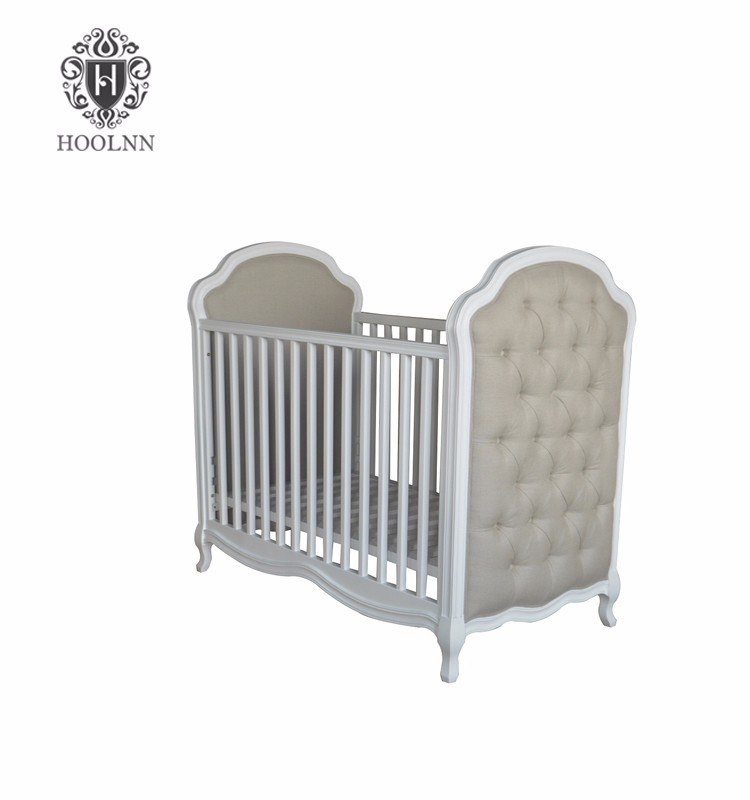 Modern American Wooden New Born Bed Baby/classic american style baby cot