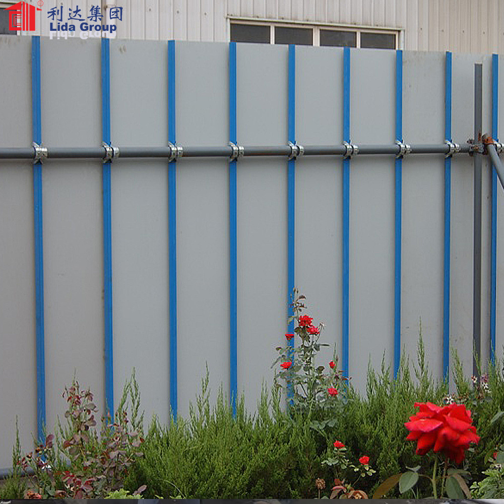 Prefabricated galvanized steel fence for sale
