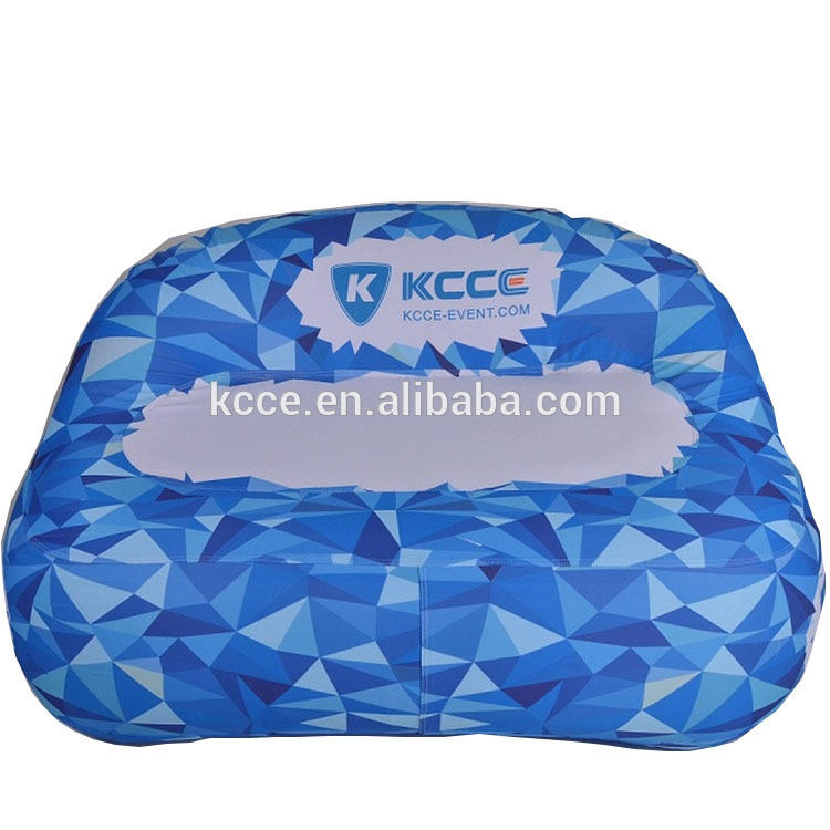 Comfort Inflatable Sofa With Printed Logo for Advertising Events