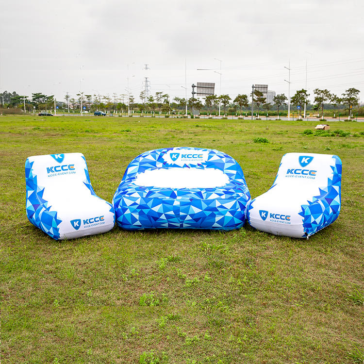 Custom printed inflatable chair/sofa, advertising inflatables