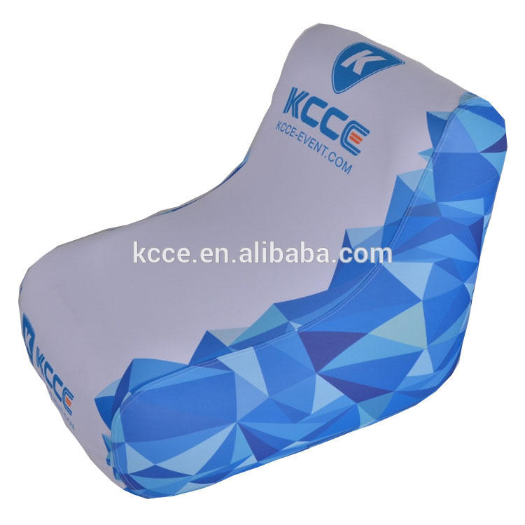 Comfort Inflatable Chair With Printed Logo for Advertising Events