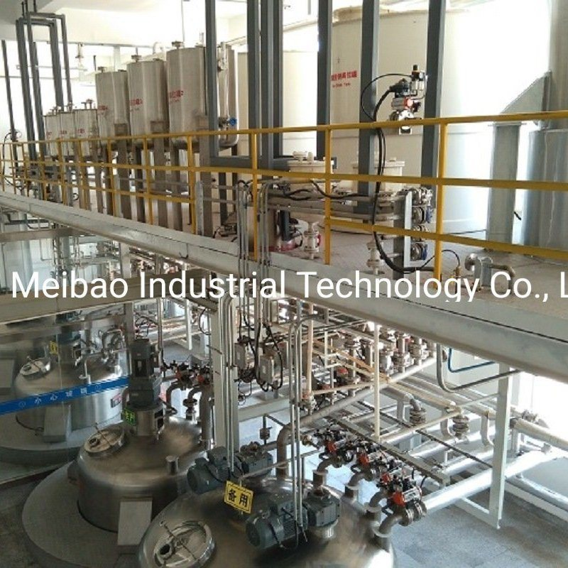Simple Operation Automatic Liquid Detergent Production Line for Daily Chemical