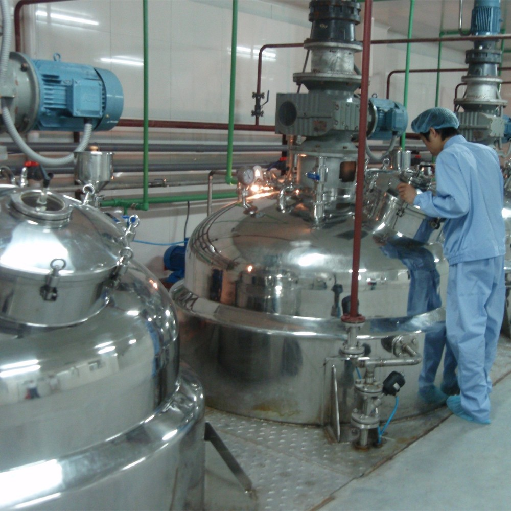 Laundry Liquid Production Line with PLC Control for Liquid Detergent Industry