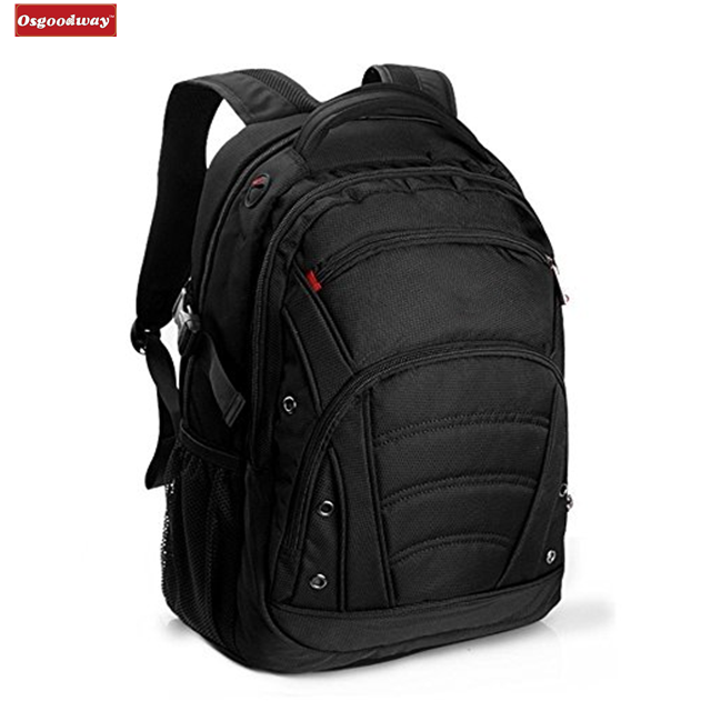 Osgoodway New Product High Quality Nylon Backpack Laptop Bags for up to 15.6 inch laptops