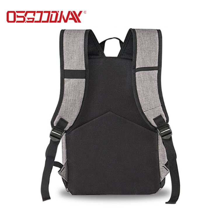 product-Osgoodway-Osgoodway Water Resistant Canvas Vintage Casual Student Laptop Bag Backpack Men wi