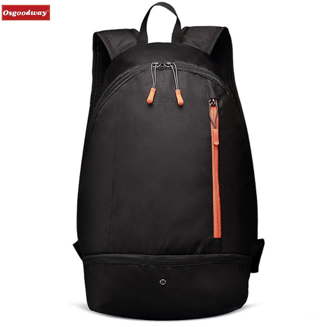 Osgoodway Lightweight Waterproof Men Laptop Bag Backpack with Shoes Compartment for Sports Gym Cycling