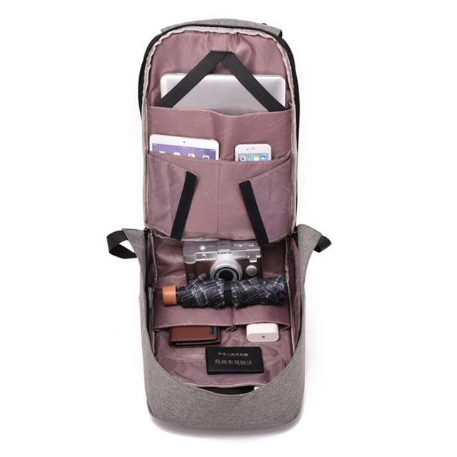 product-Osgoodway-Osgoodway Anti Theft 156 Inch Waterproof Travel Laptop Backpack with USB Charging