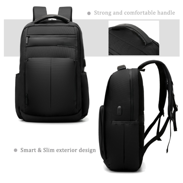 product-Osgoodway 156 In Water-Resistant Light-Weight Waterproof Laptop Bag Computer Backpack with U-1