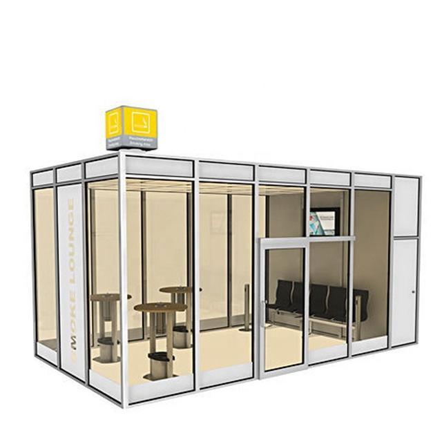 OEM Street Attractive Design Smart Urban Modern AC Bus Shelter for Sale