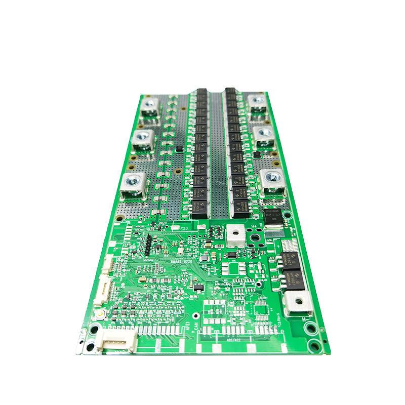 Smart bms 3S 4S 8S 15S 16S 12V 24V 48V lifepo4 Battery BMS temperature control balanced lamp lithium bms