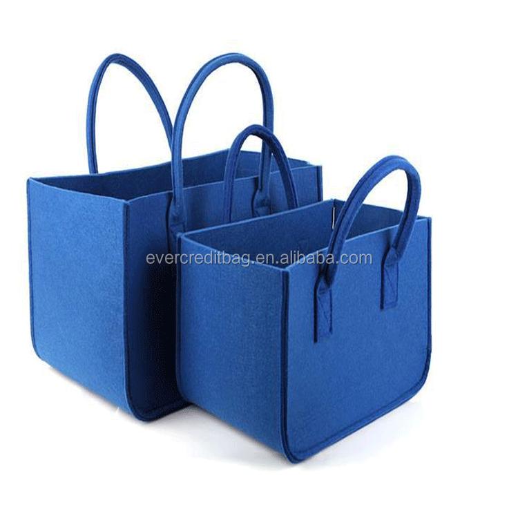 Custom Felt Tote Bag Felt Handbag Felt Storage bag Felt Organizer Bag