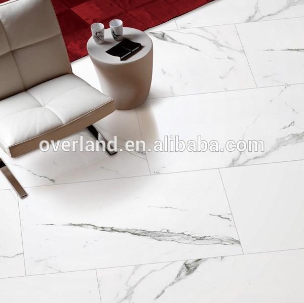 Glazed Bianco Carrara white ceramic tile