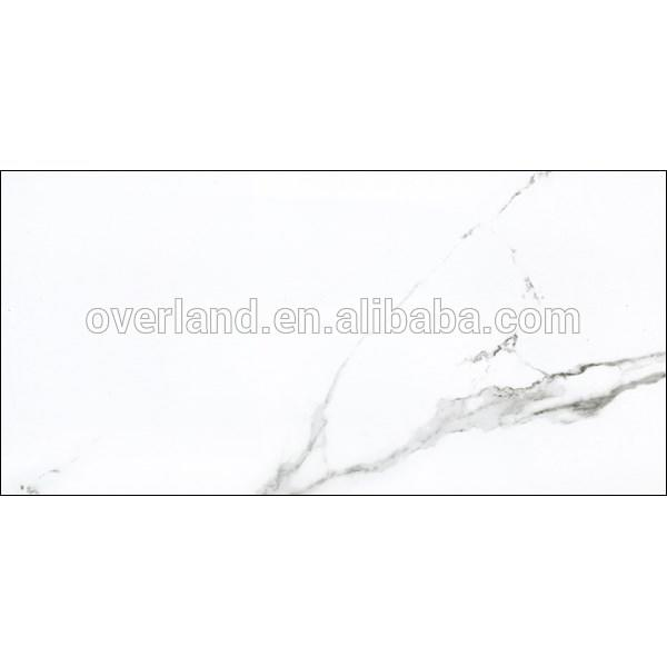 Glazed Bianco Carrara white ceramic tile
