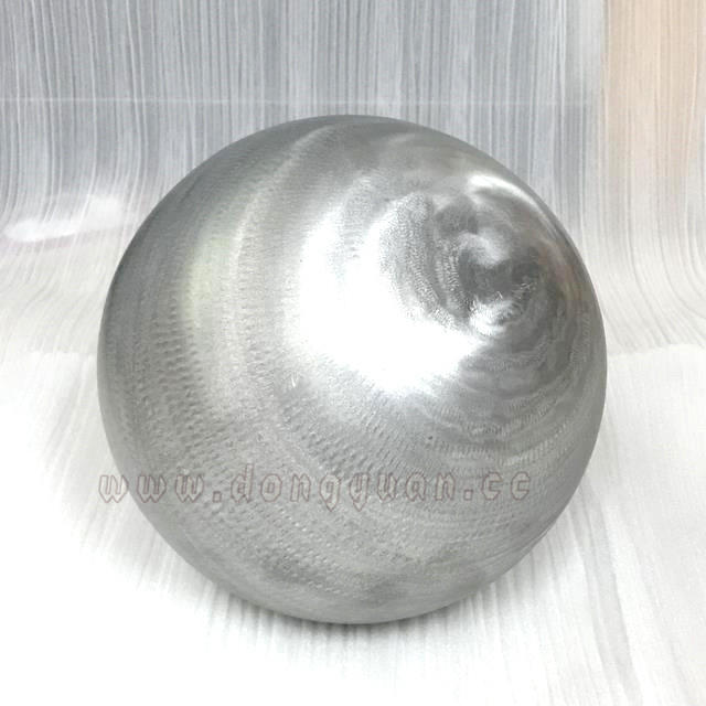 Decoration Brush Hollow Aluminum Sphere