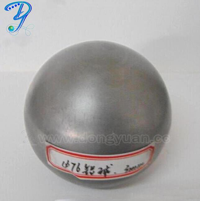 Decoration Brush Hollow Aluminum Sphere