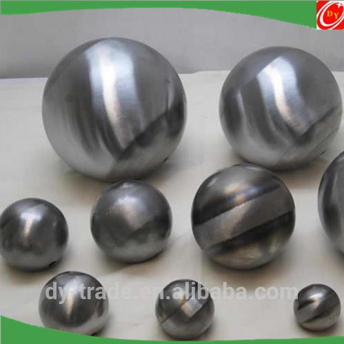 Random Sizes Polishing Unpolished Aluminum Sphere