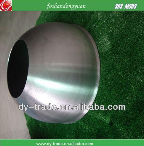 half hollow aluminum sphere
